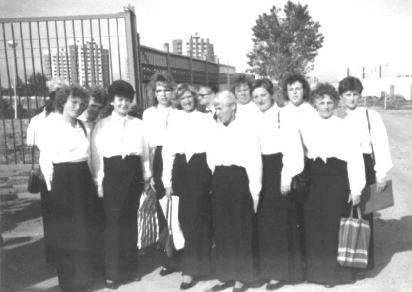 1989  Konzertreise nach Bulgarien